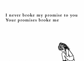 poem promises broken